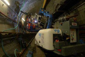 Baby Giraffa Rig tunnel drilling CP10 1