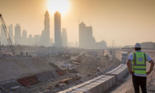 The Dubai Water Canal Extensions take shape with the help of WJ Middle East