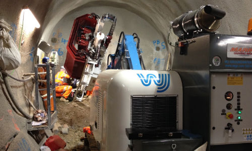 WJ were called upon to provide solutions for the Farringdon Crossrail project