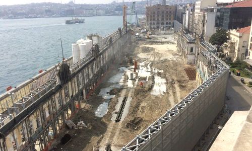 Groundwater project at Galataport, Turkey