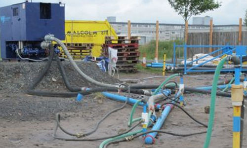 The ejector wells at Provost Driver Court